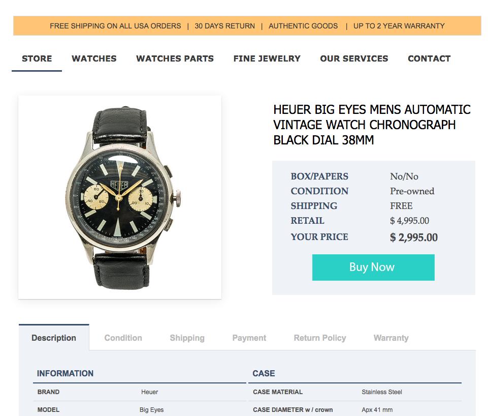 Vorsicht vor Fakes - Uhren kaufen bei ebay