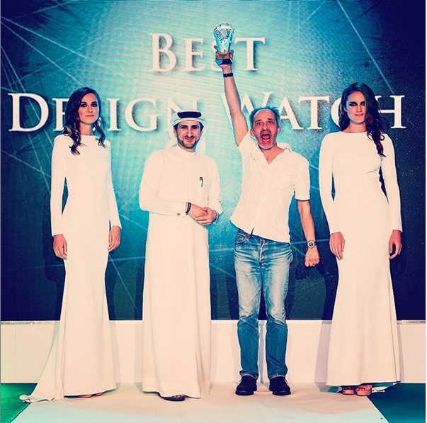 Best Designer Watch Award at the SDGC in Dubai 2015